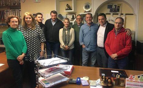 El Grupo Popular se pone a disposición de la nueva junta directiva del barrio Industria, presidida por Mateo Guzmán