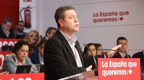 García-Page pide abordar la crisis catalana dentro de los límites de la Constitución