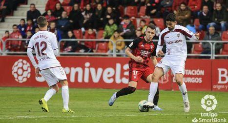 1-1 Mirandés y Albacete se reparten los puntos en un encuentro con pocas ocasiones
