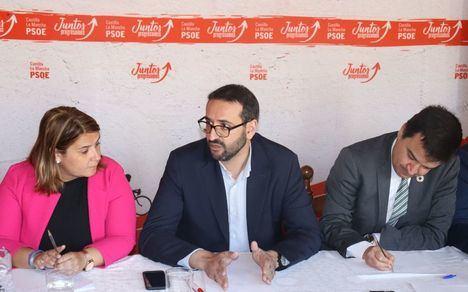 """Sergio Gutiérrez destaca que Castilla-La Mancha """"va ganando poco a poco la batalla del agua"""", pese """"a las zancadillas de Cospedal y Núñez"""""""