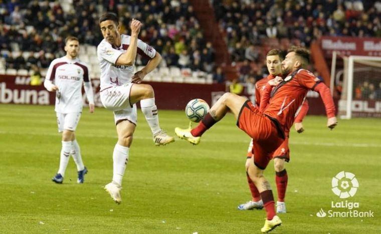 1-1. Albacete y Rayo empatan en el encuentro celebrado en el Carlos Belmonte y se reparten los puntos