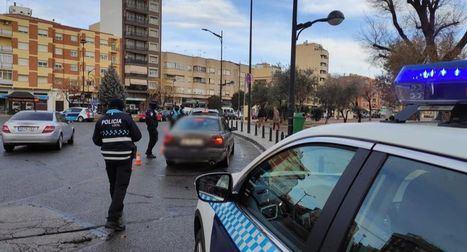 La Policía Local de Albacete participa en la Campaña Especial de la Dirección General de Tráfico sobre 'Cinturón de Seguridad y Sistemas de Retención Infantil'