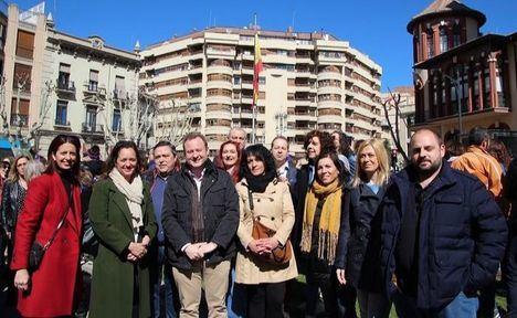 Ciudadanos Albacete reivindica en el 8-M un feminismo