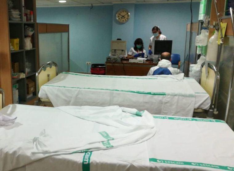 La Gerencia habilita nuevos espacios para aumentar la capacidad de respuesta de los hospitales de Albacete