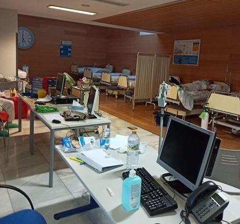 El Hospital de Albacete registra un notable aumento de ingresos por patología respiratoria en las últimas 24 horas