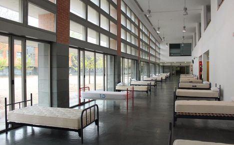 Continúa el acondicionamiento de la Facultad de Medicina como recurso sanitario en Albacete