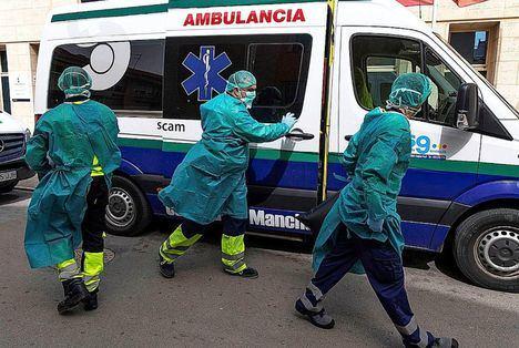 Coronavirus.- Castilla-La Mancha registra 578 casos nuevos, hasta los 4.512, y un total de 448 muertos, 81 más