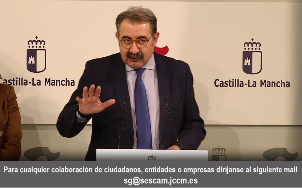 Los casos confirmados en Castilla-La Mancha son 6.424. El número de casos curados asciende a cerca de 300 personas