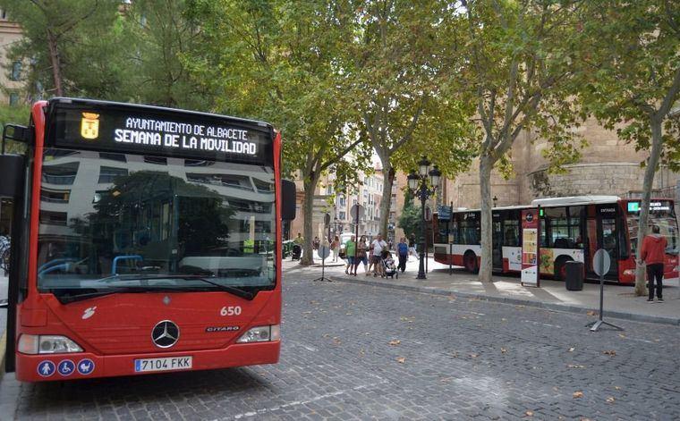 El servicio de autobús urbano en Albacete reduce sus frecuencias para minimizar el riesgo de contagios por COVID-19