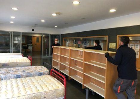"""La Facultad de Medicina """"casi a punto"""" por si es necesario ingresar a pacientes que el Hospital de Albacete ya no pueda atender"""