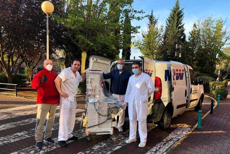 Castilla-La Mancha distribuye 17 equipos de respiradores y de ventilación mecánica en centros hospitalarios de la región