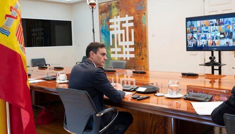 Pedro Sánchez avanza a las Comunidades Autónomas que recibirán en los próximos días un millón de test