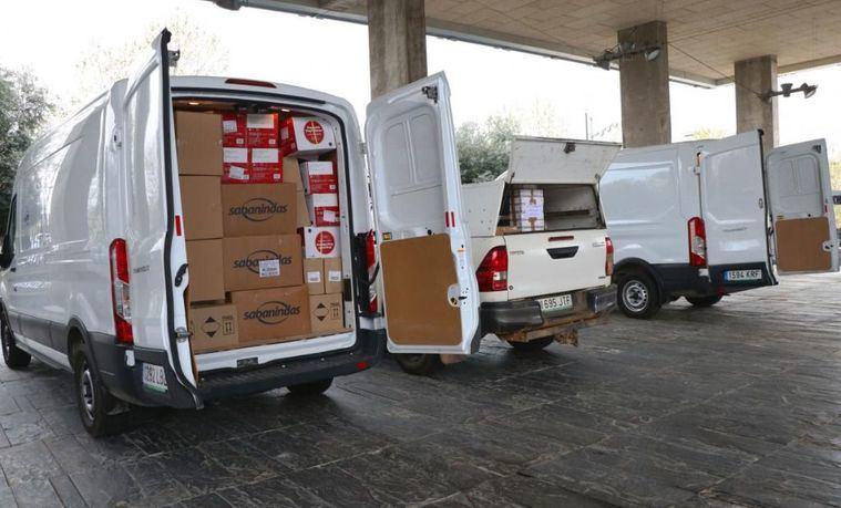El Gobierno de Castilla-La Mancha envía hoy más de 593.000 artículos de protección para los profesionales de los centros sanitarios y sociosanitarios