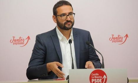 """Sergio Gutiérrez destaca el """"paso en la buena dirección"""" del Gobierno de Castilla-L Mancha y los partidos para alcanzar un pacto que sea ejemplo en España"""
