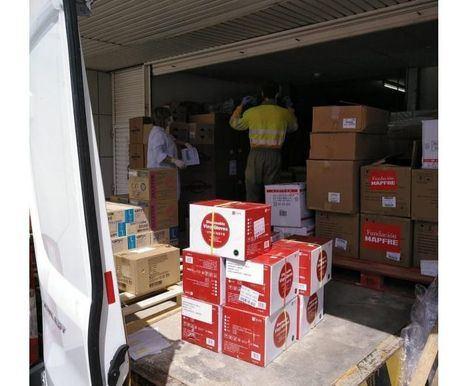 Castilla-La Mancha realiza hoy un nuevo envío con más de 260.000 artículos de protección para los profesionales sanitarios