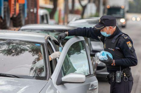 Tierraseca pone de relieve el buen funcionamiento del dispositivo de reparto de las mascarillas enviadas por el Gobierno de España a la comunidad autónoma