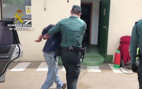 La Guardia Civil detiene a una persona por incumplir de forma reiterada las medidas de confinamiento por el estado de alarma