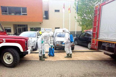 El SEPEI de la Diputación realiza más de 500 actuaciones de desinfección de espacios públicos durante esta última semana en la provincia