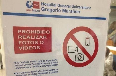 El SESCAM explica al PP que hospitales de otras comunidades también impiden captar imágenes en cumplimiento de varias normativas