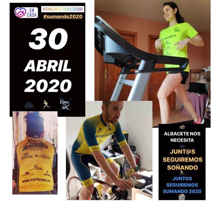 La Diputación anima a la ciudadanía a participar en TriAlbacete Solidario, desafío deportivo organizado por el Club de Triatlón a beneficio del Banco de Alimentos