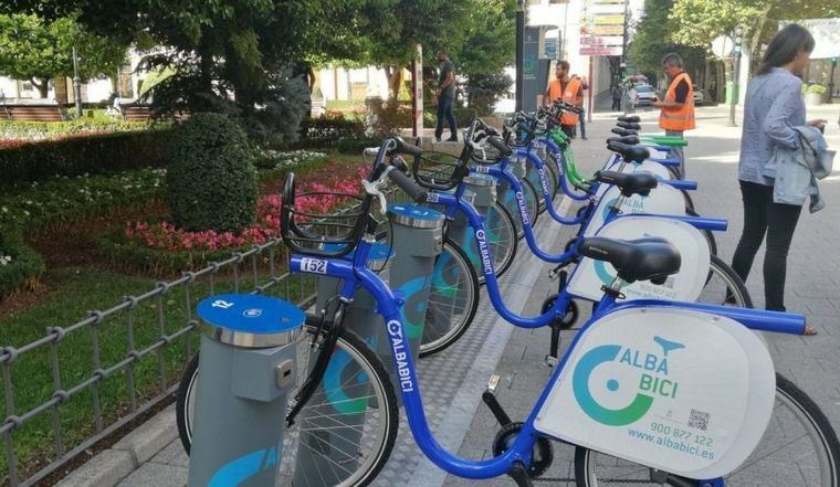 El Ayuntamiento de Albacete reanuda parte del servicio de préstamo de bicicletas de alquiler