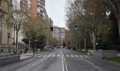 El Ayuntamiento de Albacete habilita espacios urbanos, favoreciendo el tránsito de personas y bicicletas y el mantenimiento de la distancia de seguridad