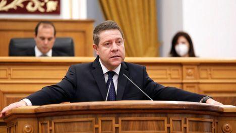 Emiliano García-Page transmite su pésame a las familias y se disculpa ante los ciudadanos en las Cortes