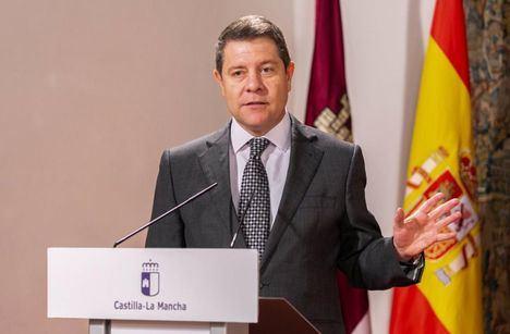 """García-Page pide al PP que """"apoye la iniciativa del Gobierno"""" de prolongar el estado de alarma """"aunque sea con mucha crítica"""""""