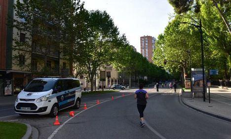 El Ayuntamiento de Albacete volverá a habilitar el próximo fin de semana espacios urbanos, para facilitar que se mantenga la distancia de seguridad
