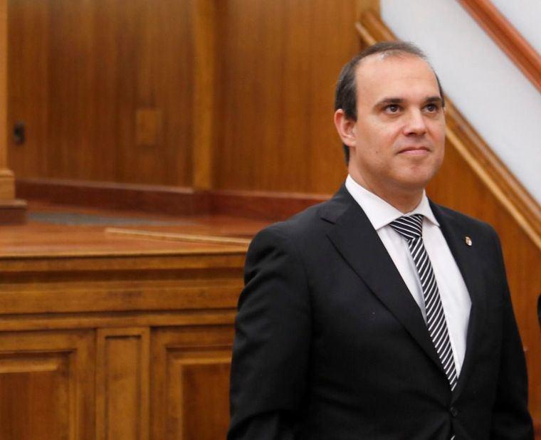 El presidente de las Cortes de Castilla-La Mancha, Pablo Bellido, lamenta que el PP responda 'con el bofetón' a la 'mano tendida' de la Junta
