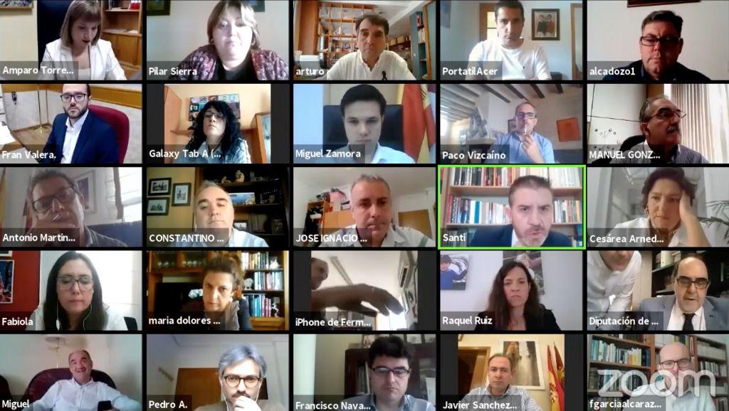 El Equipo de Gobierno de la Diputación de Albacete propone crear una Mesa de Trabajo con todos los Partidos para adaptar el Presupuesto 2020