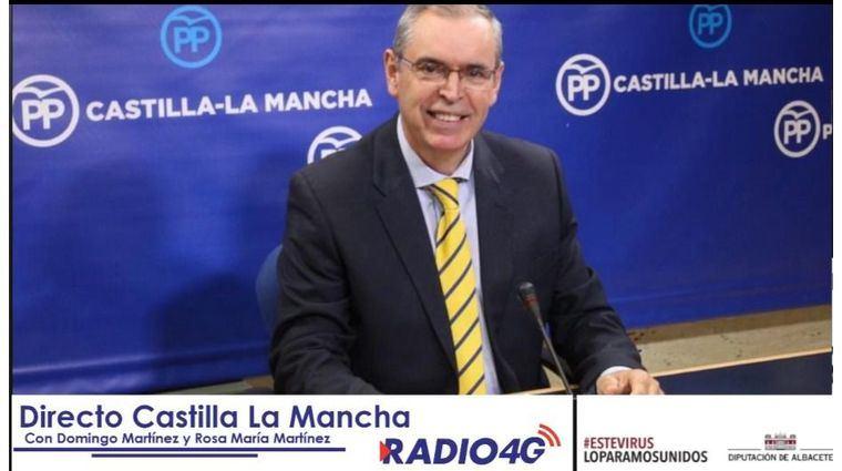 """Vicente Aroca, presidente del PP provincial, en declaraciones a Radio 4G Albacete: """"Lo que queremos es evitar las manipulaciones y los engaños. Queremos la verdad"""""""