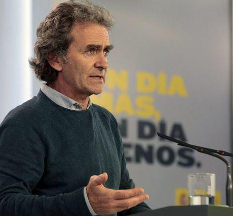 Fernando Simón apunta que Albacete, Ciudad Real y Toledo podrán entrar en fase 1