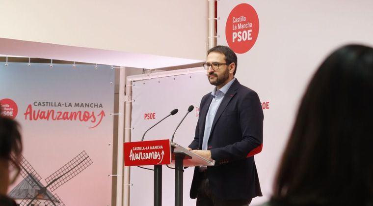 """Sergio Gutiérrez denuncia que el PP de Castilla-La Mancha """"lo único que tiene son 100 excusas"""" para no pactar"""