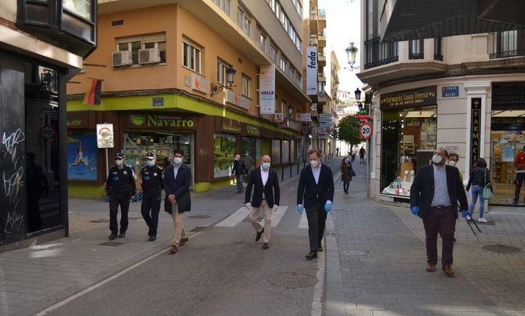 """Vicente Casañ: """"Hoy es un día histórico, cuando superemos la pandemia, los albaceteños tendrán un centro con menos malos humos y más posibilidades de paseo"""""""