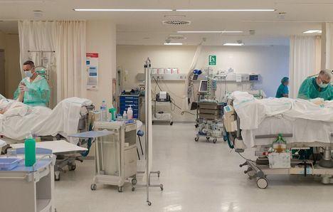 Coronavirus.- Continúa disminuyendo el número de hospitalizados en Castilla-La Mancha que registra 505 en toda la región y continúa con menos de 100 pacientes en UCI