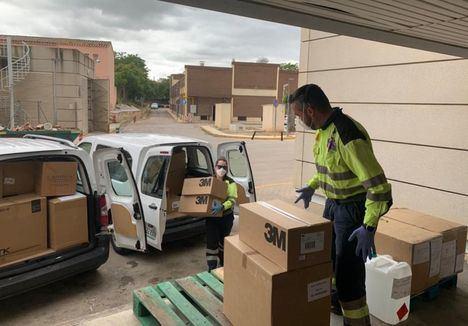 El Gobierno de Castilla-La Mancha envía 25.600 test rápidos y 79.000 artículos de protección a los hospitales de la provincia de Albacete