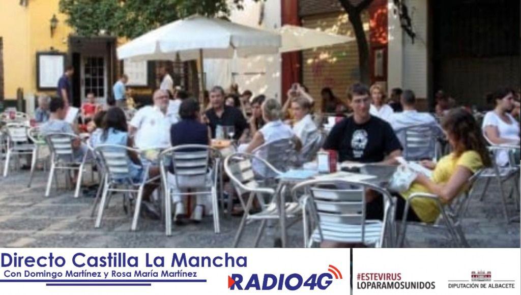 Las terrazas de los establecimientos hosteleros de Albacete, si toda va bien, podrán abrir la próxima semana