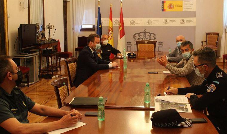 Reunión en Albacete entre administraciones y las Fuerzas y Cuerpos de Seguridad para coordinar las actuaciones en la Fase 1