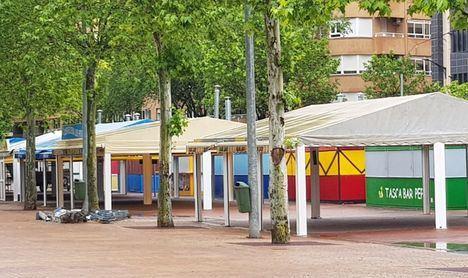 La apertura de las tascas del Paseo de la Feria, está prevista para la primera quincena del mes de Junio