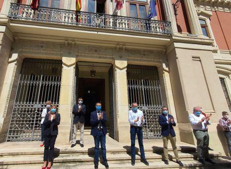 La Diputación de Albacete se une al minuto de silencio convocado por el Gobierno de España en recuerdo a todas las víctimas de la pandemia