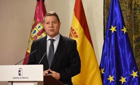 """García-Page: """"Con este acuerdo gana todo el mundo y no pierde nadie, salvo el que quiera perder"""""""