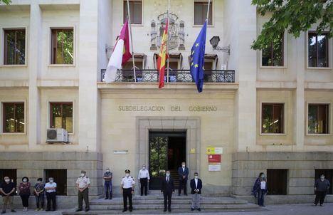 El delegado del Gobierno de España en Castilla-La Mancha, Francisco Tierraseca, reclama que el cambio de fases no implique bajar la guardia frente al coronavirus