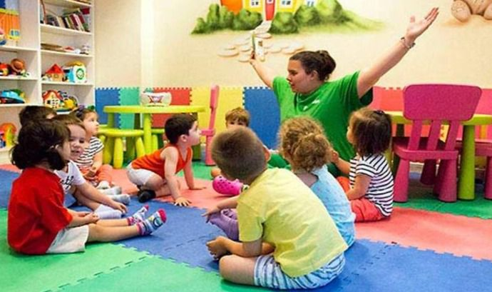 Los escolares más pequeños no tendrán que mantener la distancia de seguridad ni usar mascarilla