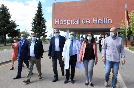 El Gobierno regional realizará tres actuaciones de reforma en el hospital de Hellín en los próximos dos meses