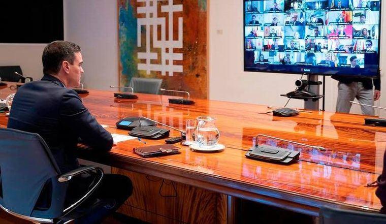 Sánchez anuncia la apertura de fronteras con la UE el 21 de junio y que será la última videoconferencia de presidentes