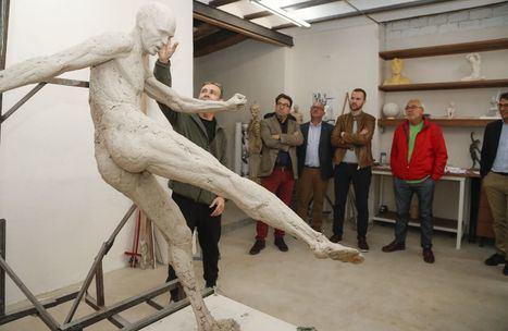 El acto de inauguración de la estatua de Iniesta se pospone a 2021 por motivos de prevención ante el Covid-19