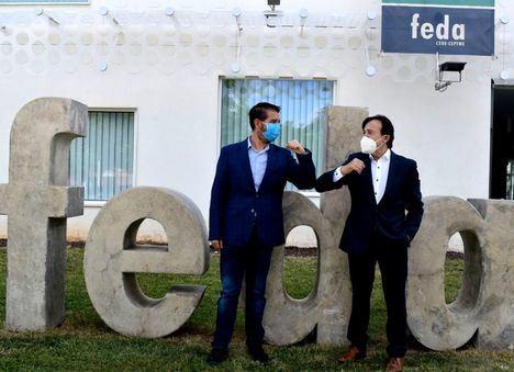 La Diputación de Albacete y FEfedaDA, 'Codo con codo' con los sectores estratégicos de la provincia