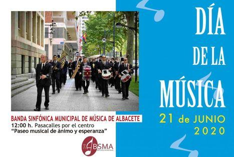 La Concejalía de Cultura se une a la celebración del Día de la Música con conciertos en vivo y retransmisiones a través de las redes sociales