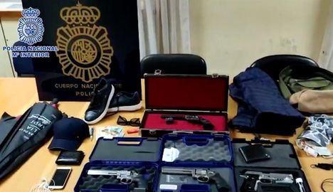 La Policía detiene a 21 personas e interviene 731 armas de fuego en una macrooperación en 15 provincias, entre ellas, Toledo y Cuenca